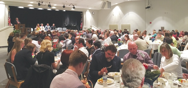 The 23rd Annual Miami County Excellence in Education Awards Dinner was held Monday evening, recognizing Miami County's honor graduates and outstanding educators.