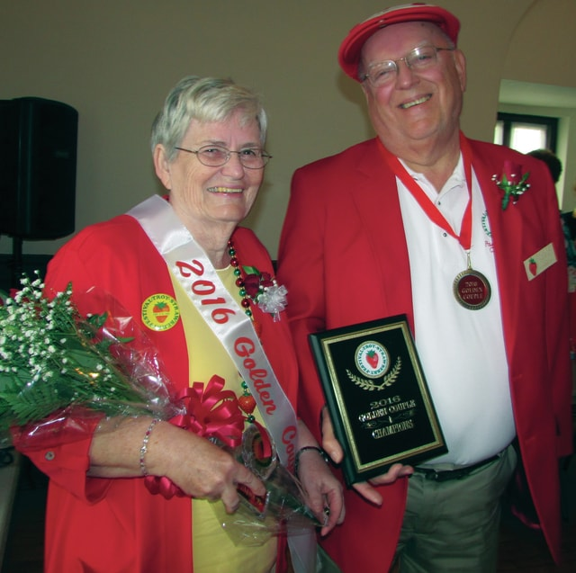 "Earl and Carol Burley of Troy were crowned the 2016 Troy Strawberry Festival's ""Golden Couple"" on Saturday. The couple has been married for 51 years."