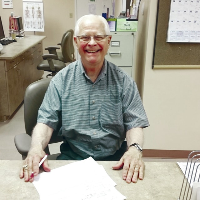 Provided photo Chris Cooley of Piqua has joined Health Partners Free Clinic as a volunteer physical therapist.