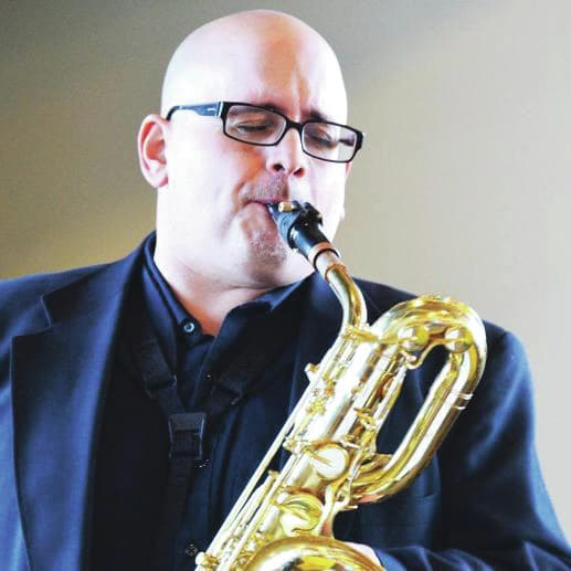 Courtesy of billburnsjazz.com The Piqua Civic Band will give a free concert at 7 p.m. Thursday at Hance Pavilion featuring saxophonist Bill Burns, an active jazz educator who performs across southwest Ohio.