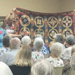 VIDEO: Quilting artist Linda Cooper discusses quilts with a family significance