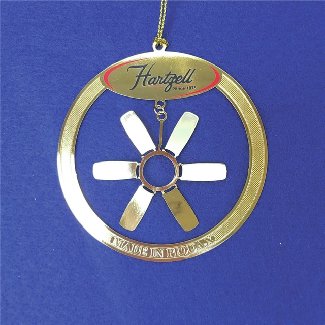 """Provided photo Mainstreet Piqua's tenth """"Made in Piqua"""" ornament honors Hartzell Air Movement (formerly known as Hartzell Fan), which has been in business here since 1927."""