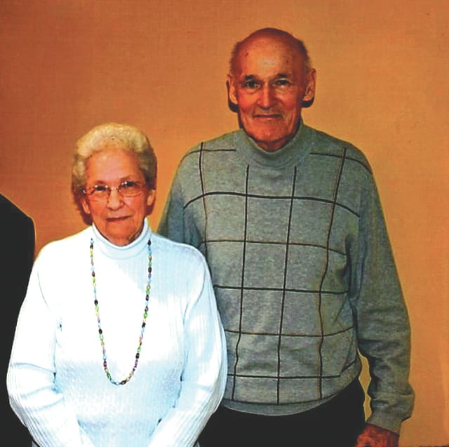 Provided photo Twins Mary Jane (Groff) Carey and Norbert Gene Groff will celebrate their 89th birthday on Oct. 3.