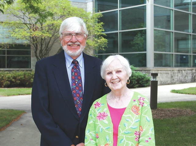 Provided photo Ed and Kay Curry have been named co-chairs of the 2016 Holiday Evening at Edison State Community College. The 19th annual event takes place on Dec. 7, with proceeds going to the Edison Foundation to provide student scholarships.
