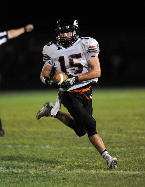 Ben Robinson/GoBuccs.com Lance Miller had another big game for Covington Friday night at Troy Christian.