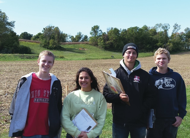Provided photo Members of the Covington FFA state team are Matthew Kuether, Lindsey Kimmel, Bryan Miller and Tom Kuether.