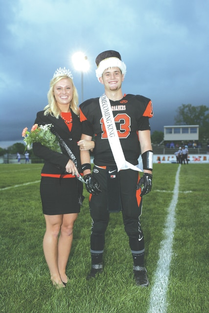 Don Selanders   For the Daily Call Olivia Hart and Mason Justice recently were crowned 2016 Homecoming Queen and King at Bradford High School.