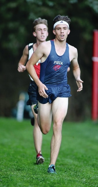 Lee Woollery/Speedshot File Photo Piqua's Andy Mayse finished second at the GWOC meet Saturday at Centerville.