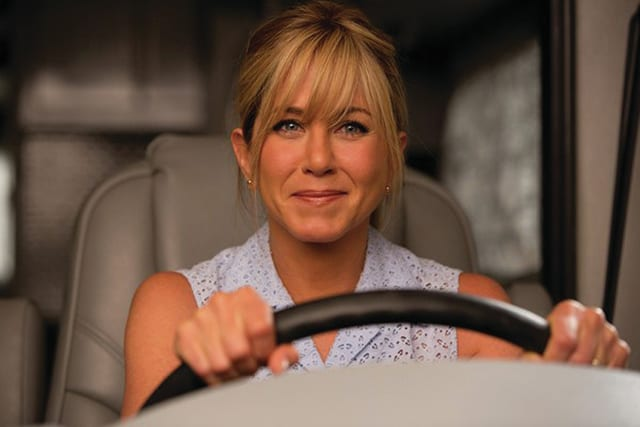 "Photo Courtesy of Warner Brothers Jennifer Aniston stars in ""We're the Millers."""