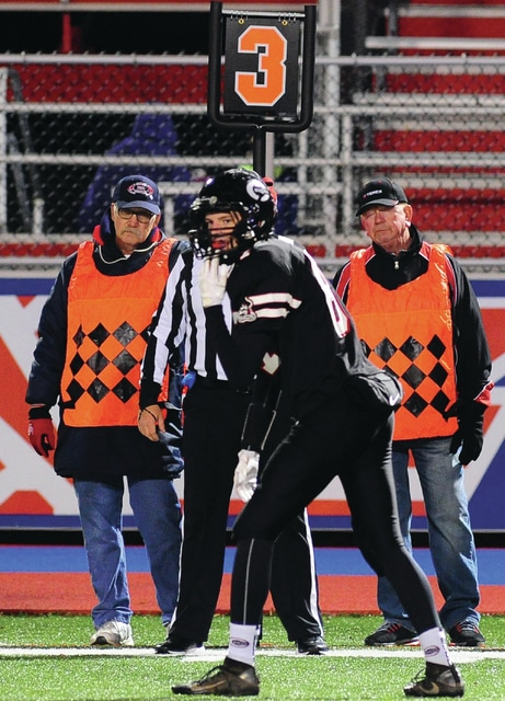 "Mike Ullery | Daily Call Games at Alexander Stadium/Purk Field could never be played without the ""Chain Gang""."