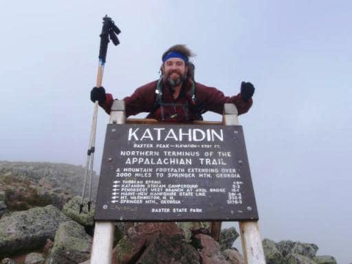 "Provided photo Andy ""Captain Blue"" Niekamp, who has hiked over 7,400 miles on the Appalachian Trail, will be the featured speaker at the Nov. 9 YWCA Monthly Luncheon Series."