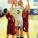 Lehman girls play with youthful enthusiasm