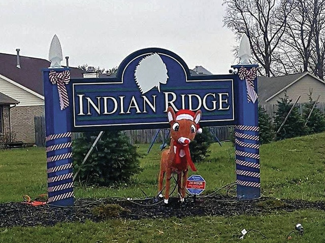 Provided photo Indian Ridge is holding a Christmas lights display contest, sponsored by Indian Ridge Builders.