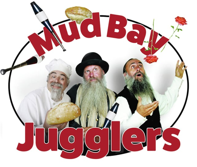 Provided photo The Mud Bay Jugglers are a physical comedy trio from Olympia, Wash., that have been performing together for 35 years.