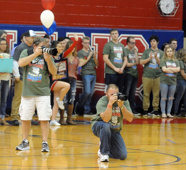 From beginning to end, Friday's Green Out event fulfilled its mission to honor veterans and raise money for the Cpl. Sam Pearson Memorial Scholarship Fund.