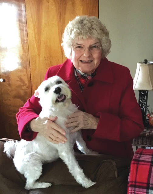 Provided photo The family of Carol Boltin Greene of Bradford will hosting an open house birthday party on Sunday, April 9, when she will turn 80.