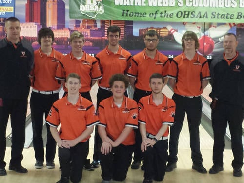 The Versailles boys bowling team made the cut to the top eight at the Ohio High School Athletic Association Division II state tournament on Saturday at Wayne Webb's Columbus Bowl in Columbus and then finished sixth overall.