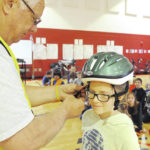 VIDEO: Cyclists promote bike safety to kids