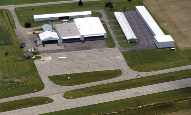 Mike Ullery | Daily Call file photo Hartzell Field at the Piqua Municipal Airport will being getting a precision approach path indicator (PAPI) this summer.