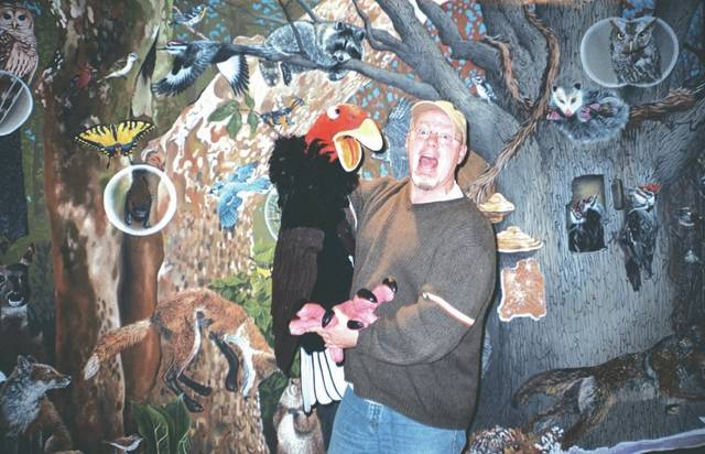 Provided photo Chris Rowlands, an environmental education specialist at Aullwood Audubon Center, will entertain children at 5:30 p.m. May 19, at the Piqua Public Library as part of the 23rd annual Taste of the Arts.