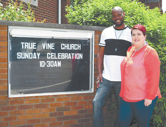 Mike Ullery   Daily Call Pastors John and Stacey Scott promote equality and unity in the community at True Vine Church, located at 531 W. Ash St. in Piqua.