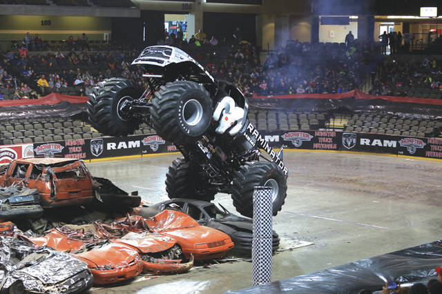 Provided photo  Raminator, named Fastest Monster Truck by Guinness World Records, will make a stop at Erwin Chrysler Dodge Jeep,  2775 S. County Road 25-A in Troy on Friday, May 19,  and Saturday, May 20.