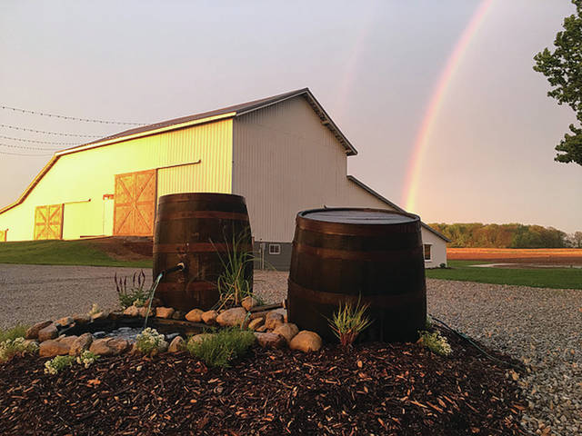 Provided photo Joshua Landis and Nicole Jefferis have opened Buckeye Barn, a wedding and event venue in Troy for those looking for a rustic look for their parties.