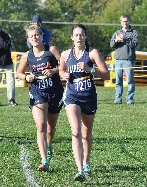 Call File Photo Meredith Butt and Piqua cross country have been working hard this summer.