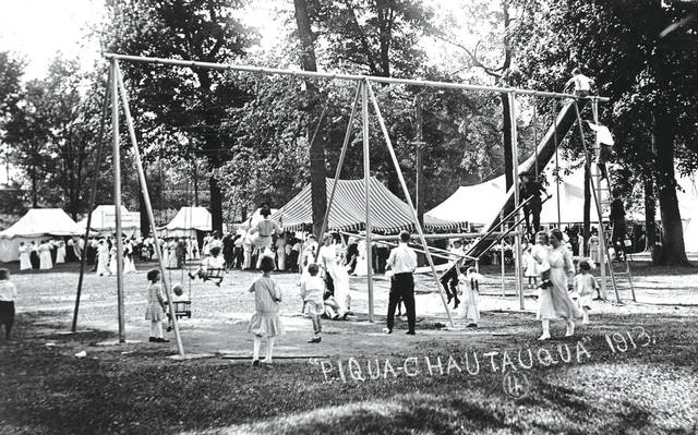 Provided photo The Piqua Chautauqua was the city's longest-running community festival, with the first event taking place in 1912. This year, it will be held Sept. 19-21 at Hance Pavilion.