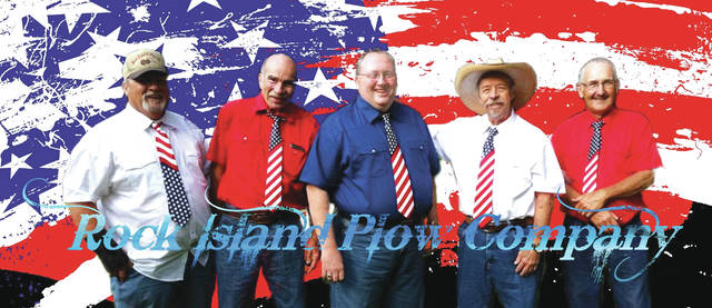 Provided photo The Rock Island Plow Company will perform at 7 p.m. Aug. 24, at the Piqua Public Library. The concert is free, but admission tickets are required and will be available at the library's front desk starting Aug. 21.