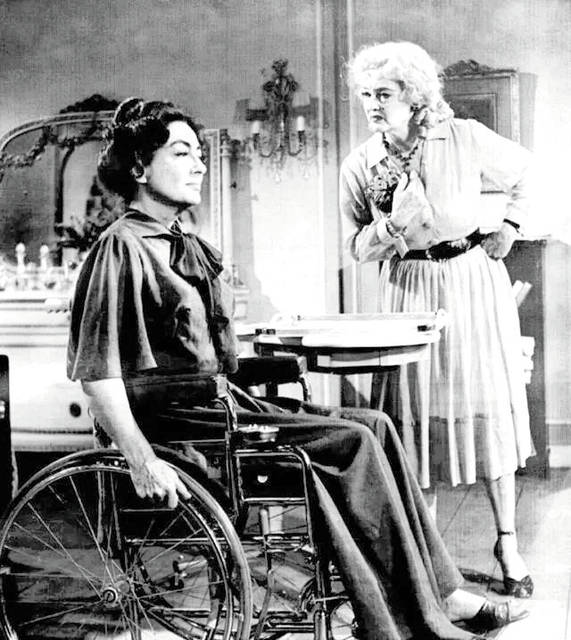 "Provided photo ""Whatever Happened to Baby Jane?"" starring Joan Crawford and Bette Davis, will usher in the 2017-18 season of Friday Night Movies at the Troy-Hayner Cultural Center at 7:30 p.m. Oct. 6. Admission is free and popcorn and soft drinks will be offered."