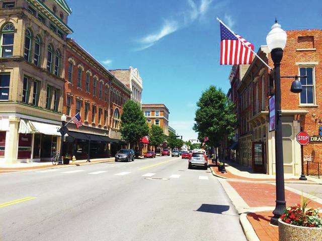 Provided photo Approximately 15 buildings in the downtown are expected to be rehabilitated through a CDBG Downtown Revitalization Program Grant that has a total value of $300,000.