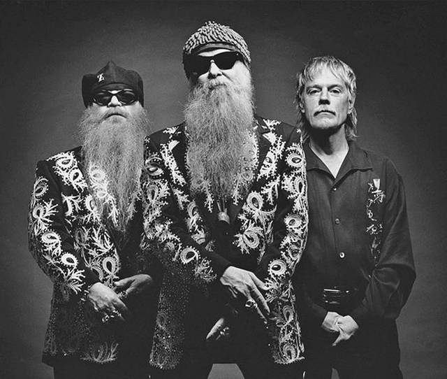 Photo courtesy of ZZ Top Legendary rockers ZZ Top will visit Huber Heights Sunday for a 7 p.m. show at The Rose Music Center.