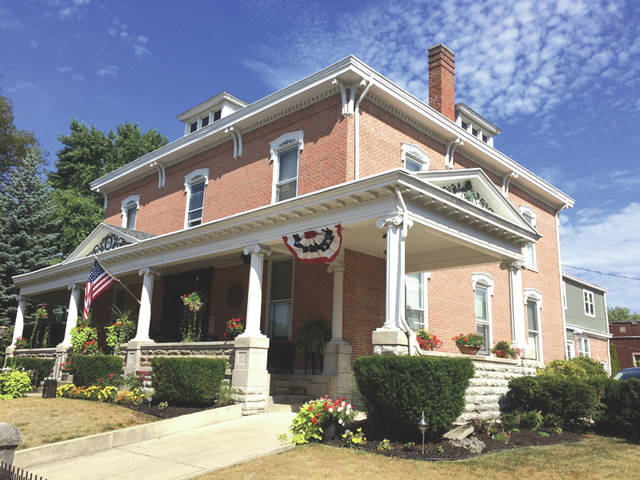 Provided photo  On Saturday, Dec. 9, the William Scott House located at 324 W. Ash St., will be included on a tour of seven historic homes located in the Piqua-Caldwell Historic District.