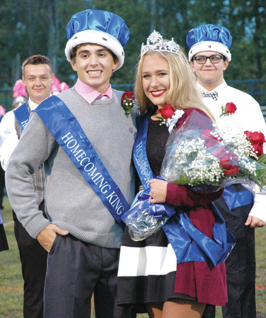 "Miami East High School seniors Jackson Tucker and Emily Rowley were crowned Homecoming King and Queen before Friday's night football game. The theme this year is ""Sea of Dreams"" and dance is Saturday night from 7:30-10:30 in Miami East Board Gymnasium."