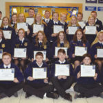 FFA members awarded Greenhand degrees