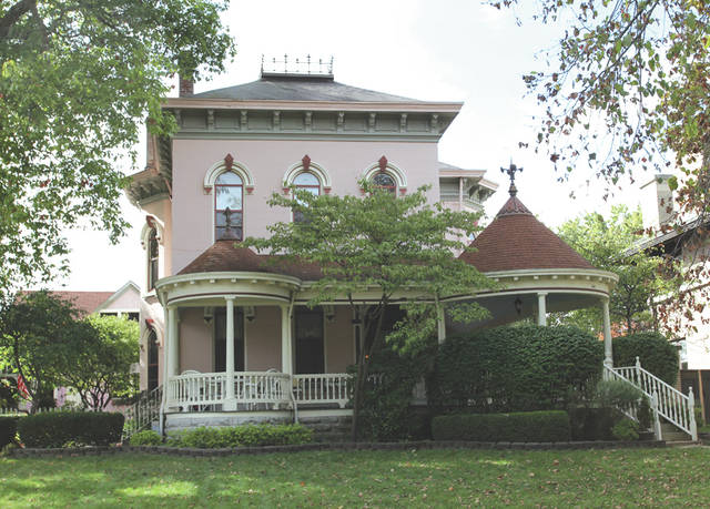 Provided photo The Leonard Parker House, located at 612 Caldwell St., will be showcased during a special tour of the Piqua-Caldwell Historic District on Saturday, Dec. 9.