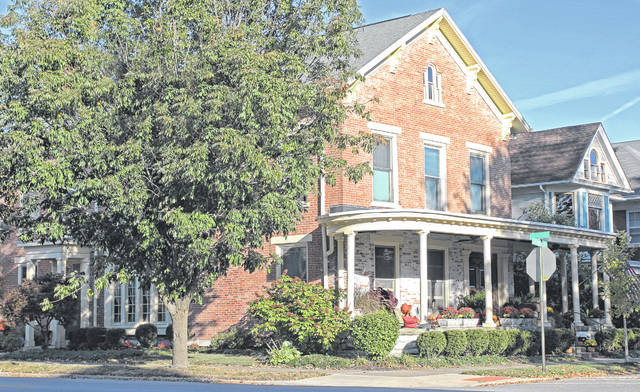 Provided photo Among the houses featured in a Dec. 9 tour of seven historic homes located in the Piqua-Caldwell Historic District is the Francis Morrow House, located at 400 Caldwell St.