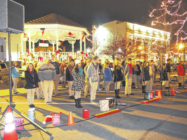 Provided photo Yuletide carols will bring holiday cheer to Christmas on the Green on Friday, Dec. 1.