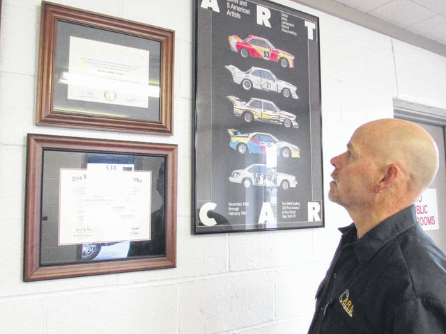Sam Wildow | Daily Call David Castle, owner of Castle's Auto Repair (CAR) and known as the car doctor, is closing his shop and selling the property in order to further his neuroscience career in North Carolina.