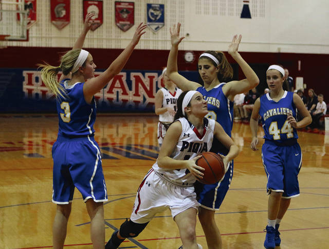 Call File Photo Kelsey Magoteaux and Piqua girls get the season started Friday at Fairlawn