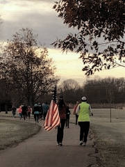 More than 300 people participated in the 10th annual Tipp Turkey Trot at Kyle Park on Thursday morning.