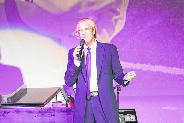 Provided photo John Tesh performs in front of an audience of nearly 450 at the Edison Foundation's 20th annual Holiday Evening at Edison State Community College on Nov. 29.
