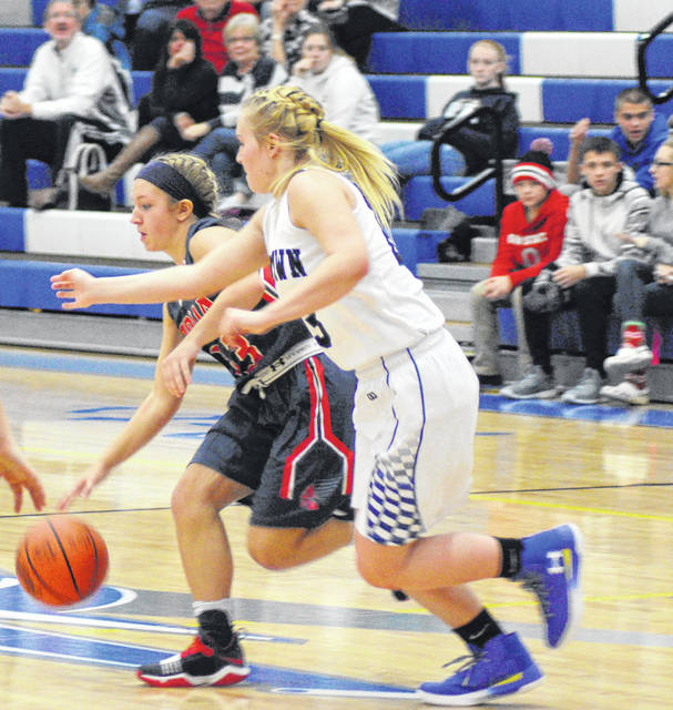 Rob Kiser/Call File Photo Skylar Sloan and the Piqua girls basketball team will be in action Friday and Saturday night.