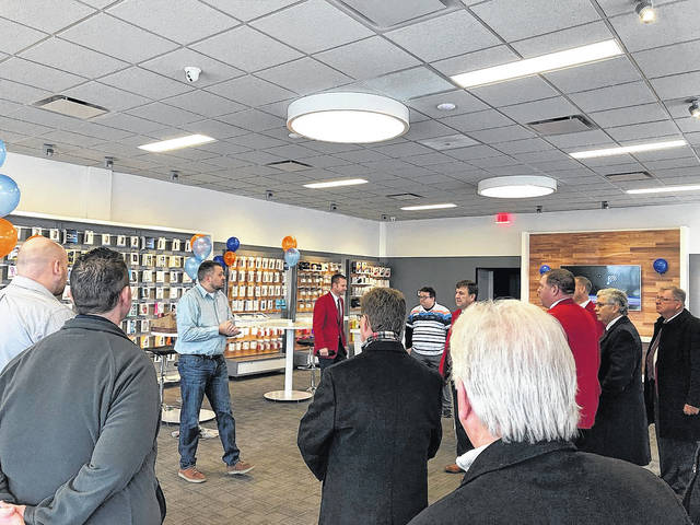 Courtesy photo of Kazy Hinds | Twitter The new AT&T store in Piqua, located at 1252 E. Ash St. in suite 114, store had its ribbon-cutting ceremony in December with the Piqua Area Chamber of Commerce.