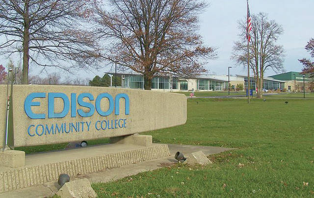 Provided photo The Edison State Community College main campus in Piqua.