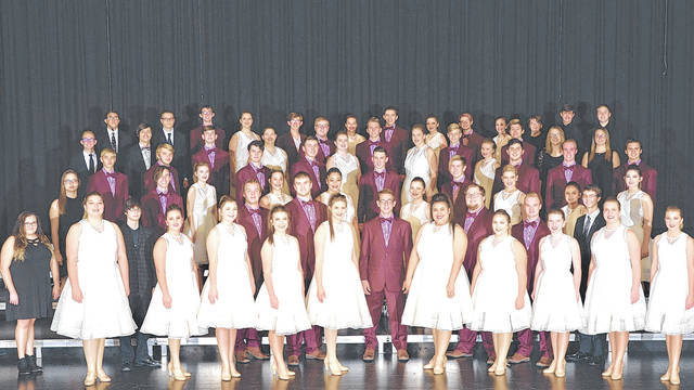 """Provided photo Piqua High School's show choir, """"The Company,"""" will host their 35th Annual Show Choir Invitational at 9 a.m. Saturday, Jan. 13, at the high school's Hartzell Center for Performing Arts."""