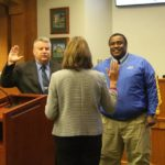 VIDEO: Commissioners give oaths of office