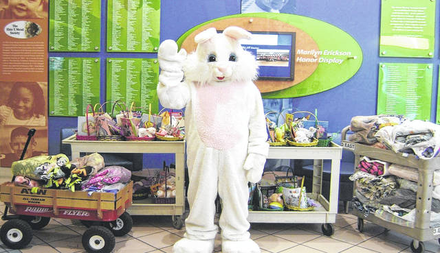 "Provided photo Through Melcher-Sowers' ""Easter Baskets of Love"" project, baskets will be filled for delivery to infants, children and teenagers in Dayton Children's Hospital and to needy children in Piqua."