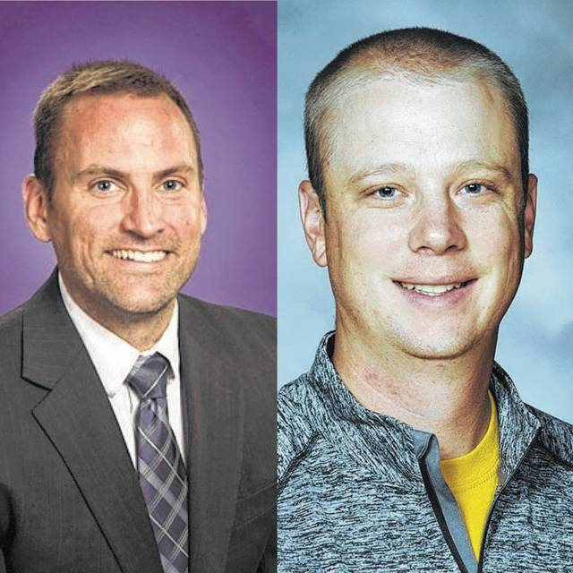 Vandalia-Butler City Schools Superintendent Rob O'Leary (left) and Athletic Director Jordan Shumaker are exploring whether to join with other districts to leave the Greater Western Ohio Conference